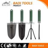 High quality china 4 piece hand garden tool set with heavy duty handle