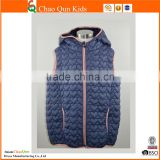 2017 latest fleece vest new design children waistcoat