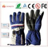 Heated Ski Gloves Power Heated Battery Gloves Fashionable Electric Gloves