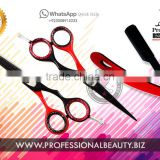 Professional Hairdressing Barber Hair Cutting Thinning Razor Scissors / Shaving Razors / Hot Red and Black