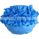 boutique satin baby ruffle diaper cover bloomers wholesale mutli-color baby cotton bloomers