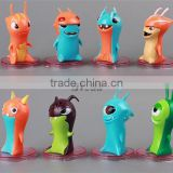 American Hot Anime cartoon Slugterra action figure set of 8pcs Slugterra PVC dolls 5cm action figure toys