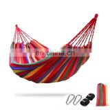 Brand new Canvas hammock swings enjoyable with high quality