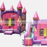 inflatable princess combo NC027