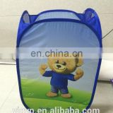 cheap customized foldable polyester laundry basket