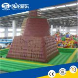 2018 Hot sale inflatable rock climbing wall, inflatable climbing wall for climber sports