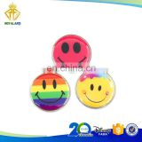 Hot Selling Funny Smiley Face Golf Ball Marker with Epoxy Dome