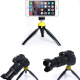 Lightweight Plastic Portable Desktop selfie stick tripod flexible camera phone mini tripod for iphone dslr cell phone