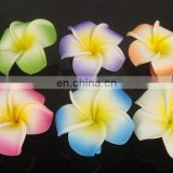 Hawaiian Plumeria Flower Foam Hair Clip
