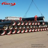 450mm zinc aluminum coating ductile iron pipe manufacturer,k9 di pipe