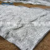 greenhouse or canopy used silver aluminum sun reflective fabric for temperature control