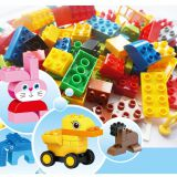 DIY Toy Building Block Toy Brick Educational Toy for Kids Construction Building Block Brick Puzzle Toys Plastic Toys Gift