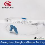 Reinforcer Clear Lens High Performance Protective eyewear Safety Glasses with Rubber Temples and Protective Eyeglass Sleeve