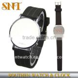 LED digital silicone watch,round case