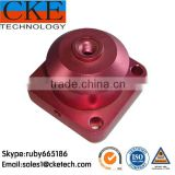 Powder Coated Mild Steel Machining Gumball Machine Parts