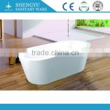 durable and high end bathroom furniture acrylic bathtub, stone bathtub from China