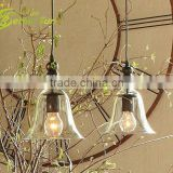 Clear Glass Shade Modern Home Decoration Edison Bulb Light Pendant