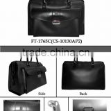 Promotional hot sales high quality Black business special Travel luggage Bag factory price PVC or PU material