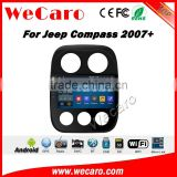 Wecaro WC-JC1021 10.2 inch android 4.4/5.1 car gps for jeep compass car radio With Wifi and 3G Radio RDS Navigation System