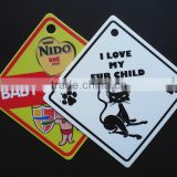 PP Corrugated Plastic sign board design, baby on board sign