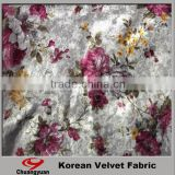 China Printting Polyester Lycra Velvet Designer Wedding Dress And Fabric Wholesale                                                                                         Most Popular