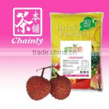 Taiwan Bubble Tea Materials Lychee Instant Drink Fruit Flavored Powder