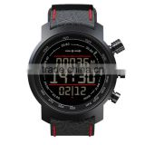 Wave form male student outdoor waterproof sports watch electronic watches leisure table trend