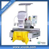 One head cording embroidery machine