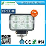 China wholesale 5.7inch CREE 50W LED working light QS-REWL50-C