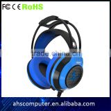 Supper bass vibration gaming headset new product 2016