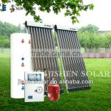 stable and reliable galvanized steel Separate Pressurized Solar Water Heater (with heat pipe vacuum tube)