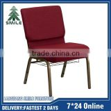 Hot sell item stacking metal church chairs used with bookrack                                                                         Quality Choice