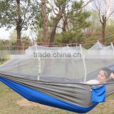 Parachute Fabric Ultralight Hammock with Mosquito Net multi-function for camping hiking outdoor products wholesale