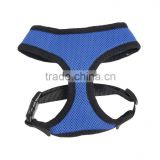 Speedy Pet Brand Comfortable Mesh Harness Vest blue/black pet harness M size