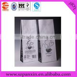 Cheap price coffee powder packaging bag/ground coffee bags with valve