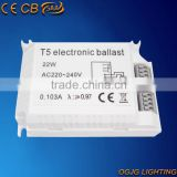 CE,CB,EMC,SAA,CCC certified electronic ballast t5 electronic ballast for T5 circular lamp 32w