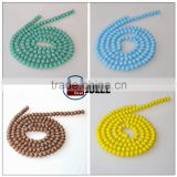Wholesale german glass beads crystal beads for wedding dress