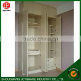 Modern wood home shoe cabinet/high gloss Laminate cabinet doors