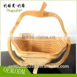 Fruit bowl made of bamboo size 28cm*28cm