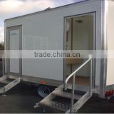 Trailer mobile stages for sale,trailer toilet, Portable Toilet, Movable trailer Toilet