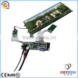 12.3 inch tft lcd panel module with 1920x720 resolution sunlight readable wide temperature range