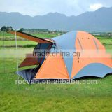 Korea Style 1 Room 2 Door Big Family Double Layer 3-4 Person Dome Tent