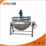 ss304 vertical jacketed cooking pot