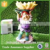 Hot-selling European-Style Garden Resin Fairy Birds Feeder Garden Supplies Decorations