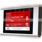 On Wall Surface Install Android POE Tablet For Employee Time Clock System