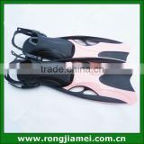 Adult adjustable swimming fins flippers,scuba diving fins