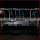 Hot used aluminum portable small stage lighting truss