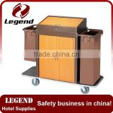 Commercial laundry equipment housekeeping cleaning trolley