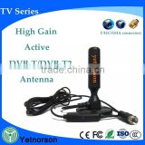 Environment Friendly digital DVB-T tv antenna 470-862mhz external tv antenna for set up box