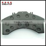 carbon fiber eco-friendly, low dust, low noise brake pad